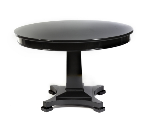 Image Result For Natural Finish Round Dining Tablea