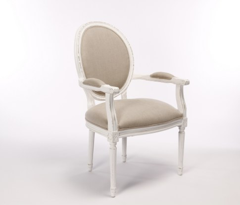 En Provence white-washed medallion-back chair  sc 1 st  Contemporary Furniture Rentals & CFRentals - Contemporary Furniture Rentals::: Chairs
